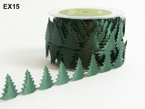 EX-15 Satin Cutouts rol 13,7mtr tree green