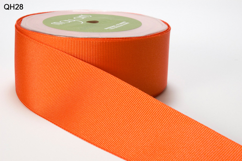 QH-5-28 Grosgrain 1,5-38mm rol 22,9mtr orange