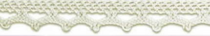 SL-01/Natural Cotton Lace 10mm 20mtr