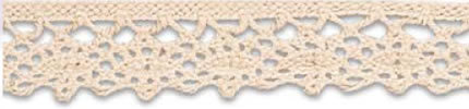 SL-02/Natural Cotton Lace 15mm 20mtr