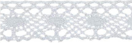 SL-04/White Cotton Lace 20mm 20mtr