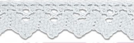 SL-05/White Cotton Lace 15mm 20mtr