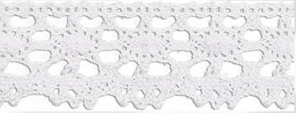 SL-169/White Cotton Lace 20mtr
