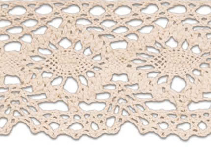 SL-223/Natural Cotton Lace 10mtr