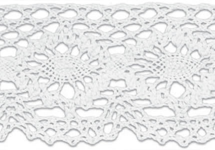 SL-223/White Cotton Lace 10mtr