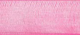 SR1209/03175 Chiffon Ribbon 3mm 50mtr shocking pink
