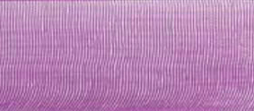 SR1209/03465 Chiffon Ribbon 3mm 50mtr purple