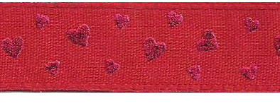 SR1214-250250 Ribbon 15mm 20mtr red/red hearts