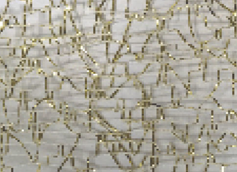 SR1501/50 gold Polyester mesh 50mm 20mtr gold