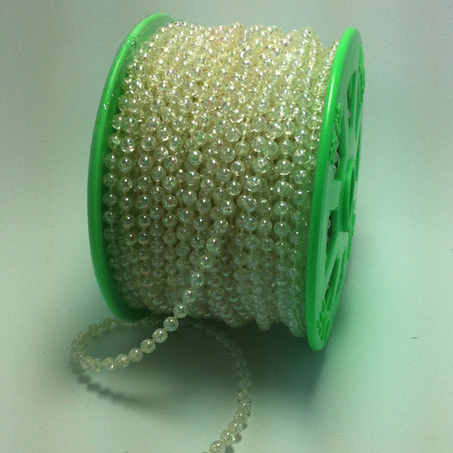 Strung of Pearls 4mm/iridescent 25mtr