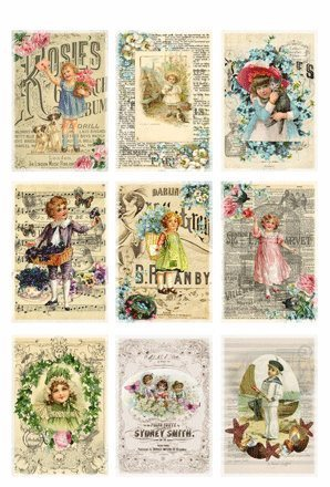 KP0030 Vintage Toppers A4 Posters