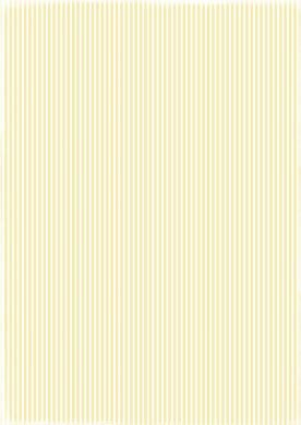 RBC027 Basic Collection A4 200gr Yellow Stripes