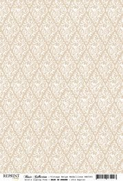 RBC065 Basic Collection A4 200gr Vintage Beige Medaillons