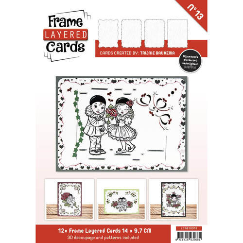 LCA610013Frame Layered Cards 13 - A6