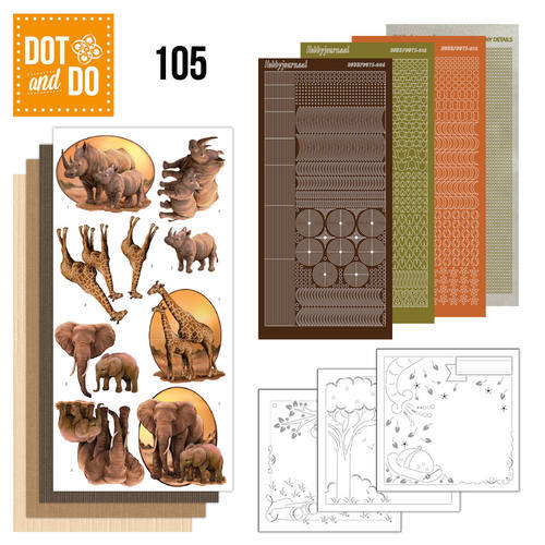 DODO105 Dot and Do 105 - Wild Animals
