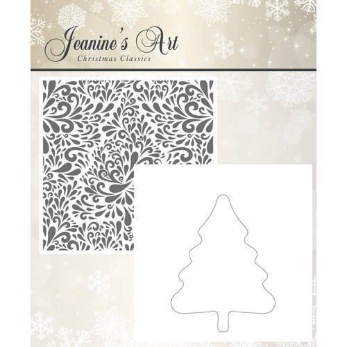 JAEMB10002 Embossing Folder - Jeaninnes Art - Christmas Classics