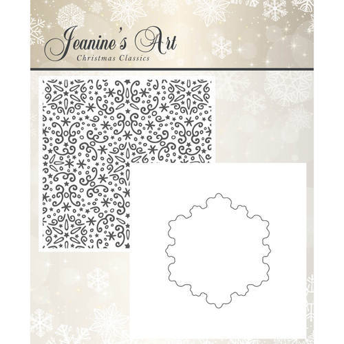 JAEMB10001 Embossing Folder - Jeaninnes Art - Christmas Classics