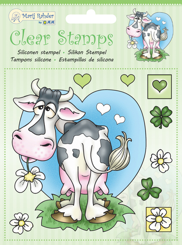 9.0044 MRJ Clear stamps Cow