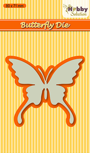 HSDJ004 Hobby Solutions Die Cut Butterfly-1