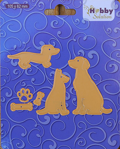 HSFD003 Hobby solutions Die Cut dogs