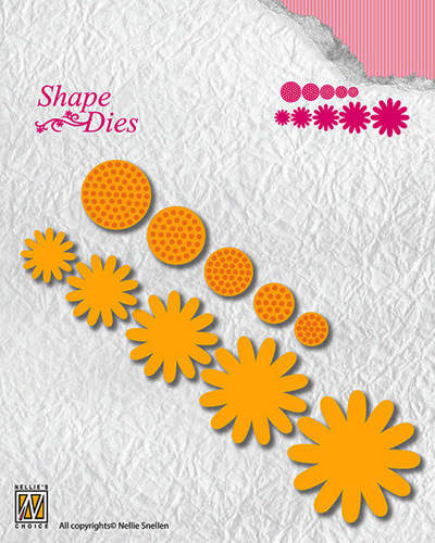 "SD133 Shape Dies ""flower-4"""