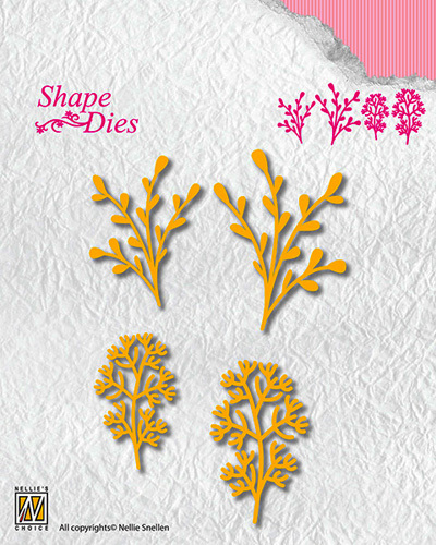 "SD134 Shape Dies ""Leaves-3"""