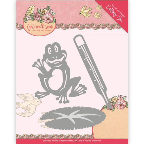 YCD10103 Die - Yvonne Creations - Get Well Soon -