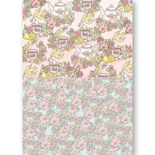 BGS10036 Background Sheets - Yvonne Creations - Get Well Soon
