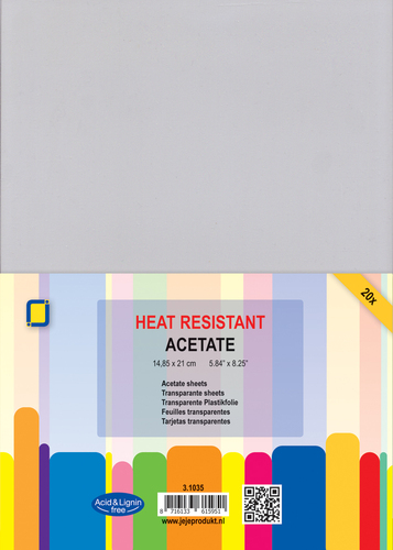 3.1035 Acetate Sheets heat Resistant A5 20st