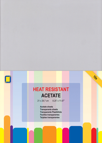 3.1030 Acetate Sheets heat Resistant A4 10st
