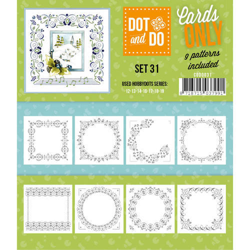 CODO031 Dot & Do - Cards Only - Set 31