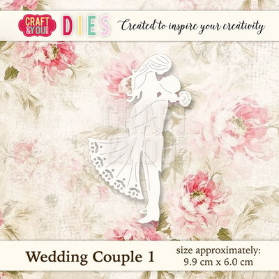CW018 Die Wedding Couple 1 - 9