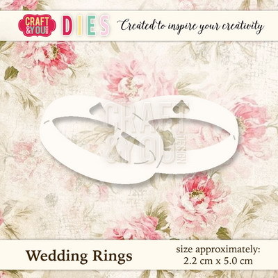 CW020 Die Wedding Rings - 2