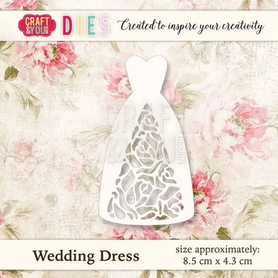 CW021 Die Wedding Dress - 8