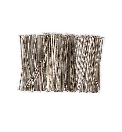 10317-3201 Head pin. 32mm. Platinum. 100pcs