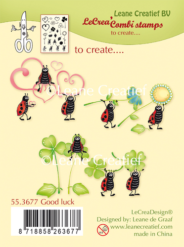 Combi clear stamp Good Luck