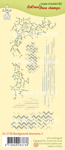 Deco clear stamp Background structures 2.