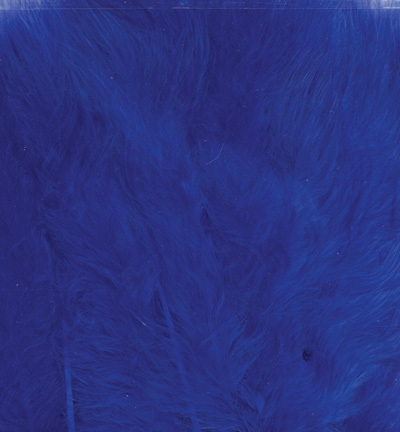12228-2804 Marabou Feathers, Cobalt blue, 15 pcs/header bag