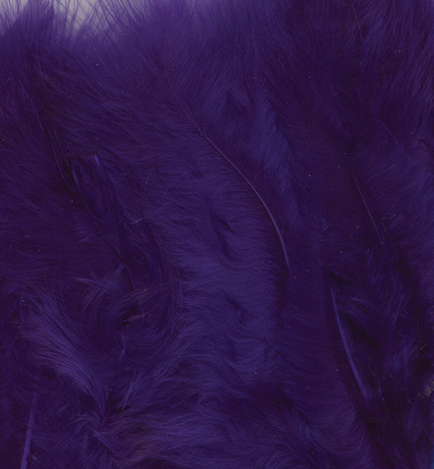 12228-2808 Marabou Feathers, Purple, 15 pcs/header bag