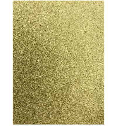 12315-1532 Glitter EVA Foam Sheets, 2mm, 22 x 30 cm, Gold, 5 pcs/ bag