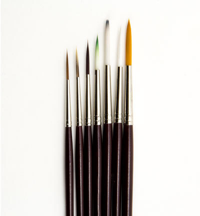 12185-1882 Artist Brush Set (7x liner), 7 pcs/ header bag