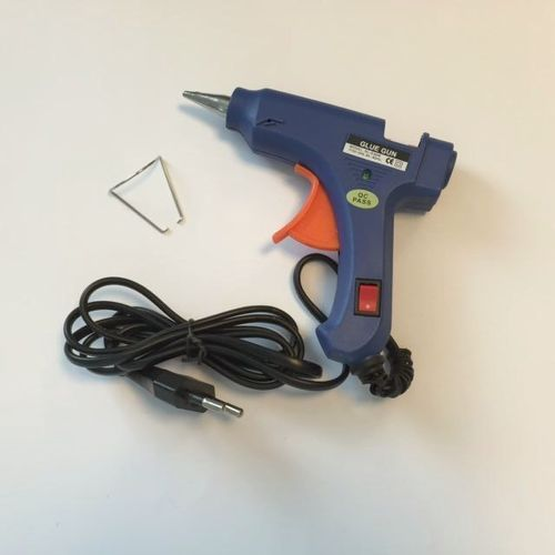 12232-3201 Glue gun with on/off switch & indicator, 20w, 110-240v/blistercard