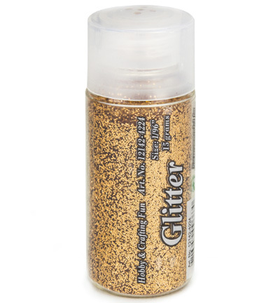 12142-4224 Glitter Fine, 1/96, Copper, 15 gr./bottle