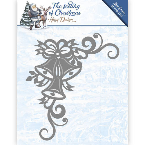ADD10114 Die - Amy Design - The feeling of Christmas - Christmas bells corner