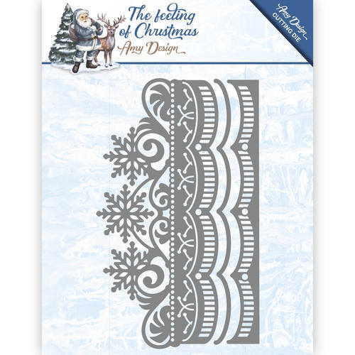 ADD10111 Die - Amy Design - The feeling of Christmas - Ice chyristal border