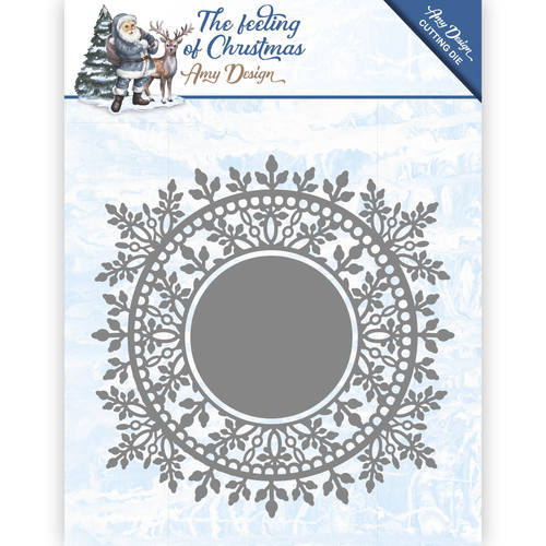 ADD10110 Die - Amy Design - The feeling of Christmas - Ice chyristal circle