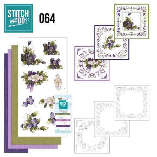 STDO064 Stitch and Do 64 - The nature of christmas