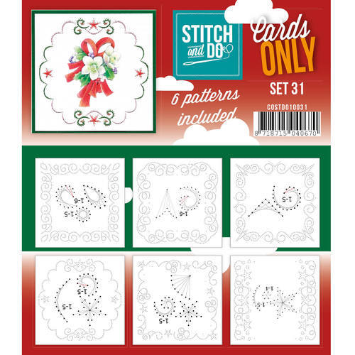 COSTDO10031 Stitch & Do - Cards only - Set 31