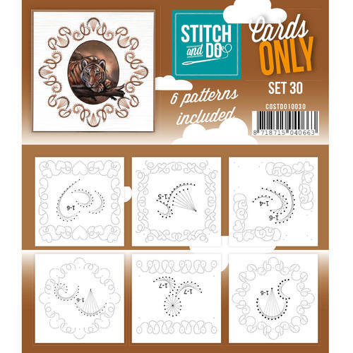 COSTDO10030 Stitch & Do - Cards only - Set 30