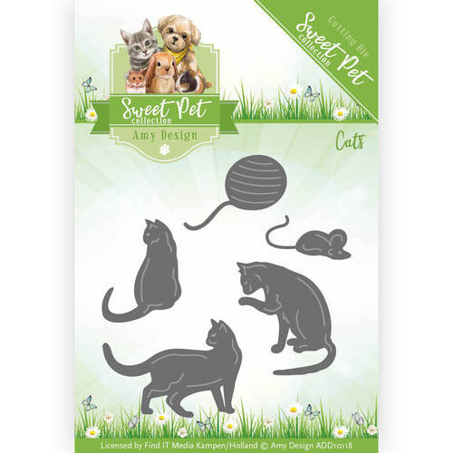 ADD10118 Die - Amy Design - Pets - Cats